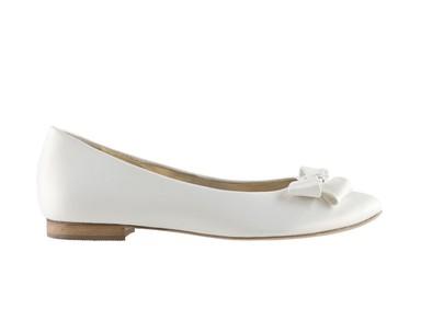 bőr esküvői cipő, lapos talpú esküvői cipő