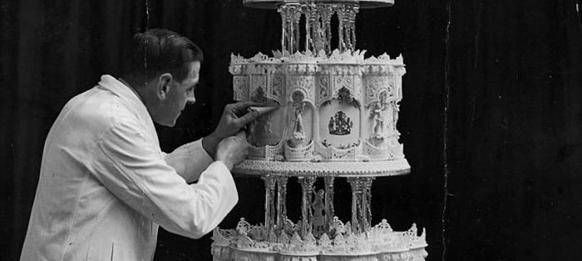Viktória királynő esküvői tortája