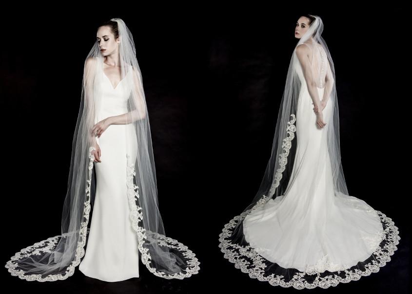 Enzoani esküvői ruha fátyol
