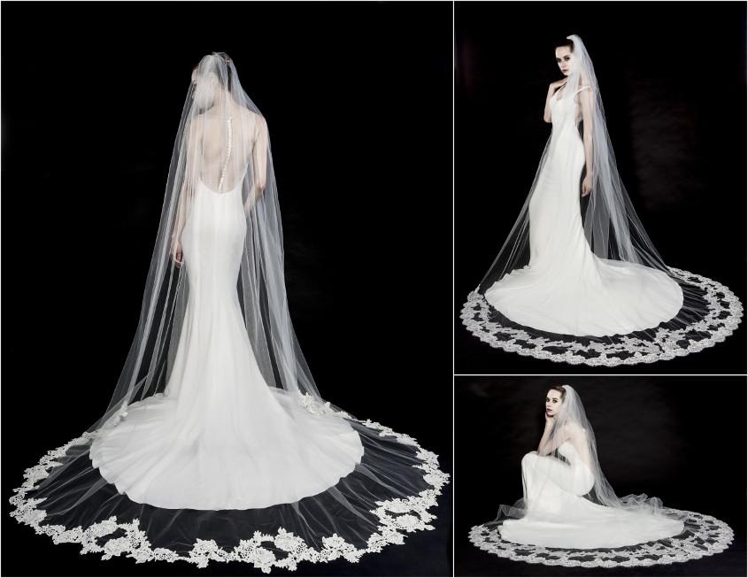 Enzoani menyasszonyi ruha fátyol