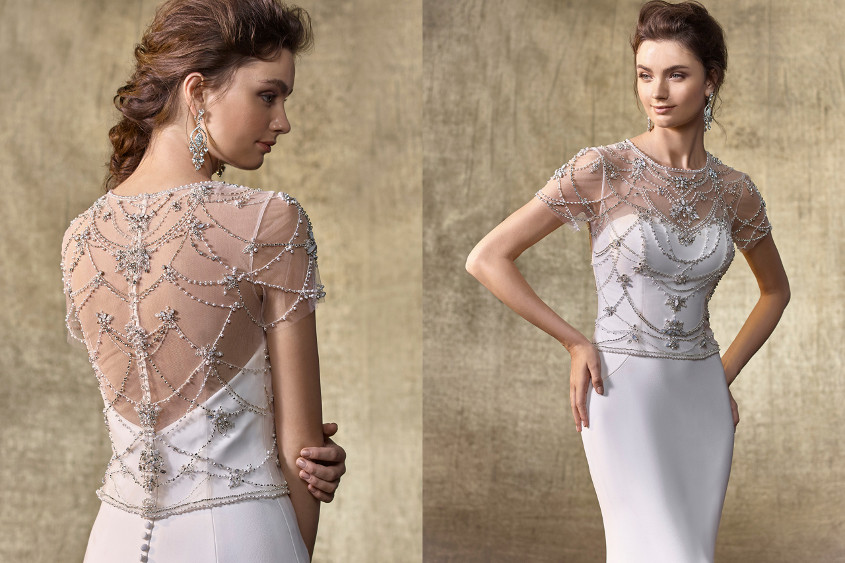 Enzoani menyasszonyi ruha bolero