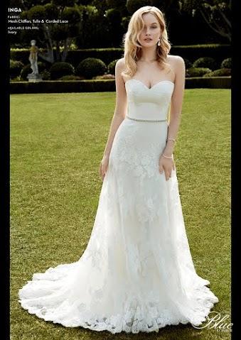 Blue by Enzonai menyasszonyi ruha - Inga esküvői ruha