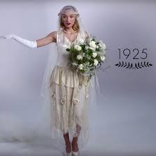 az 1925-os ev eskuvoi ruha trendje