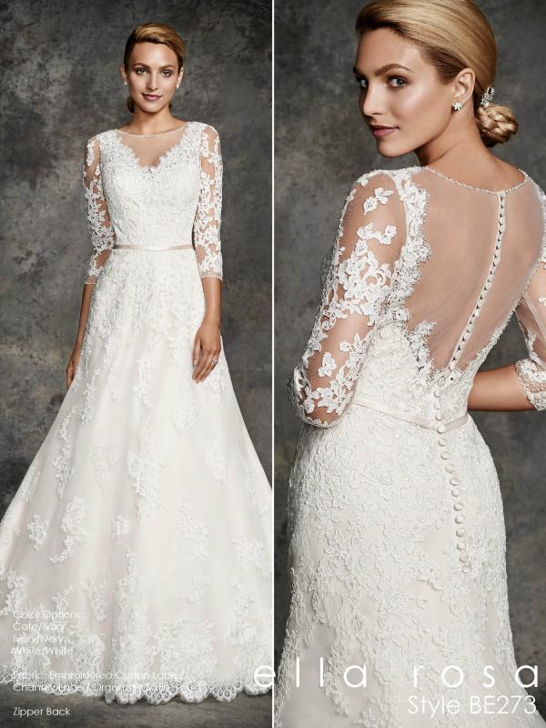 Ella Rosa esküvői ruha