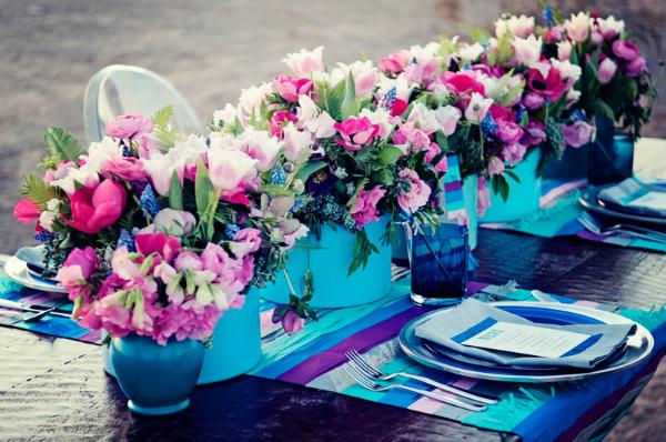 Scuba blue 2015 trendi szín az esküvőn