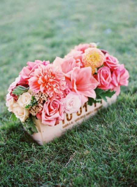Strawberry Ice - 2015 - trendszín az esküvőn