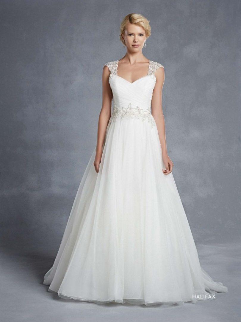 Blue by Enzoani esküvői ruha | Halifax A-vonalú menyasszonyi ruha
