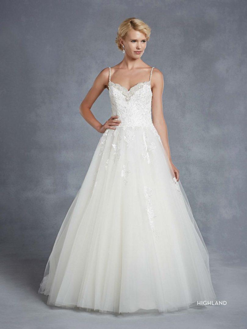 Blue by Enzoani esküvői ruha | Highland A-vonalú menyasszonyi ruha