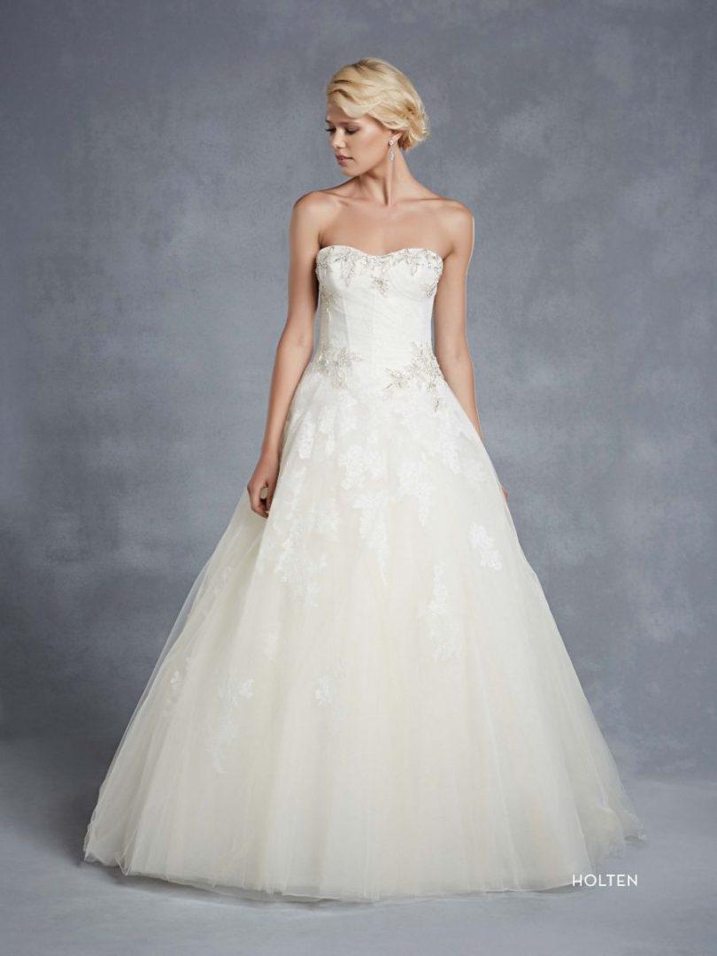 Blue by Enzoani esküvői ruha | Holten királyláány fazonú menyasszonyi ruha