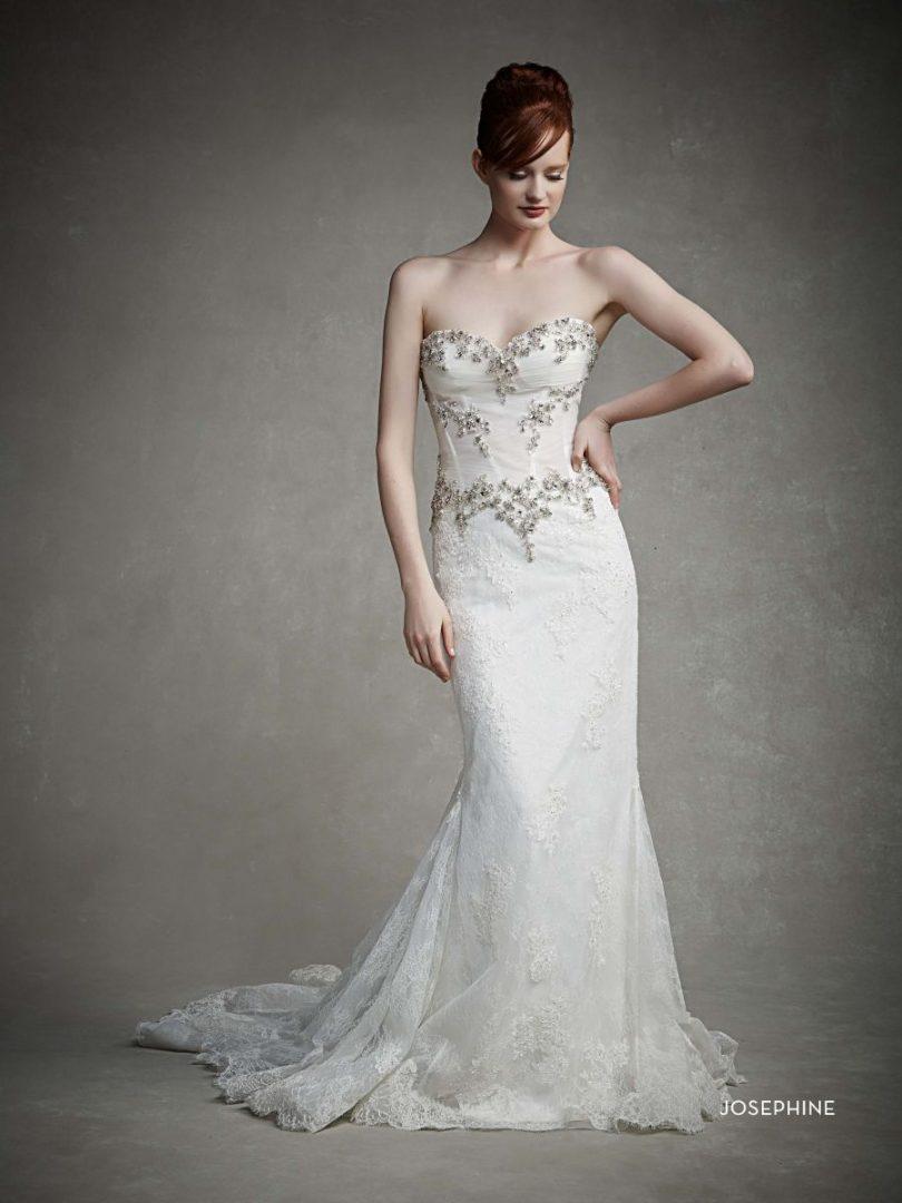 kristályos menyasszonyi ruha