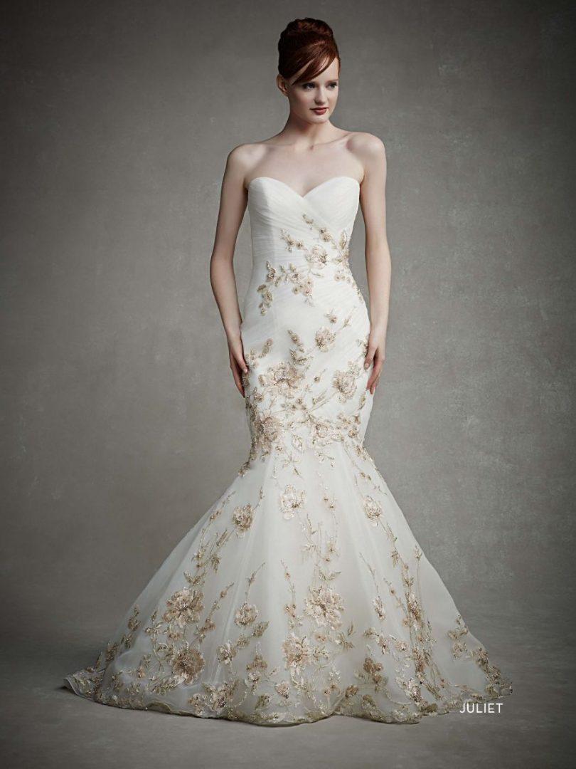 arany köves esküvői ruha