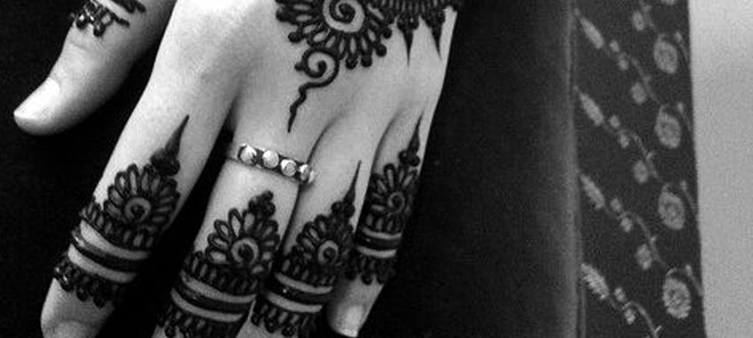 esküvői henna festés
