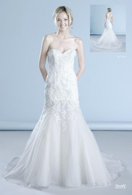 Beautiful esküvői ruha, menyasszonyi ruha