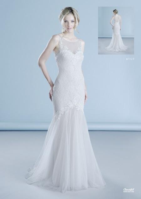 Beautiful menyasszonyi ruha, esküvői ruha