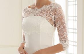 Esküvői Stóla Kabát Boleró Bianco Evento