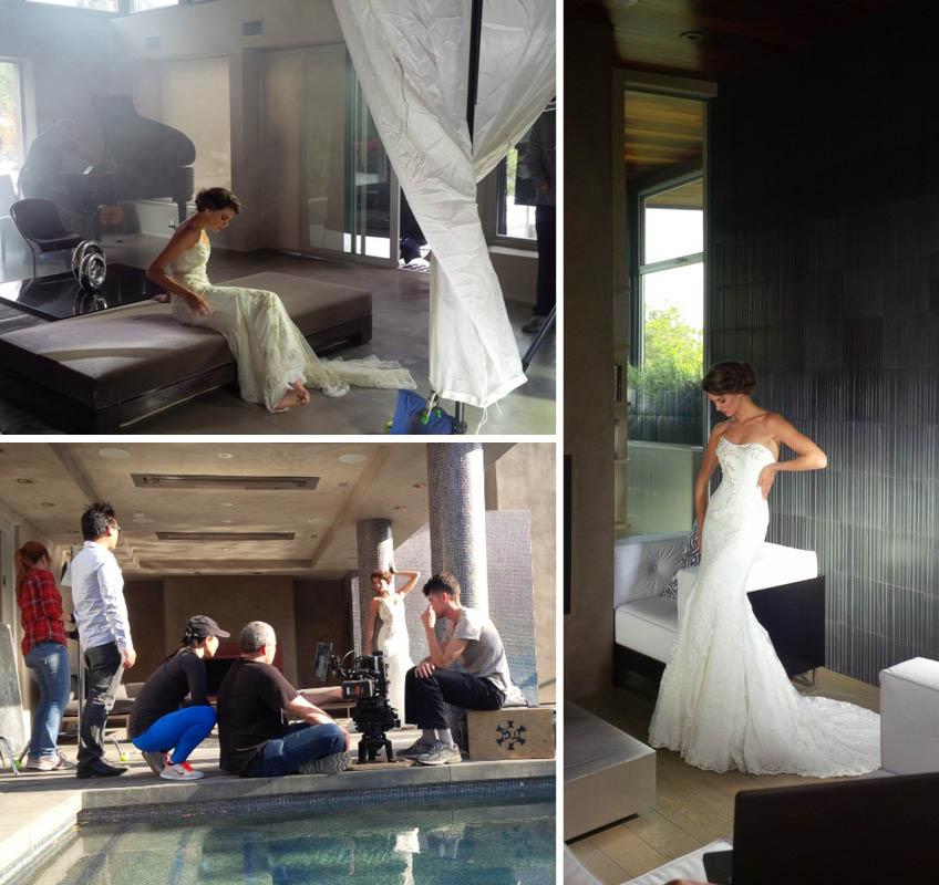 esküvői ruha fotózás