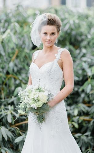 Enzoani esküvői ruha romantikus esküvőre