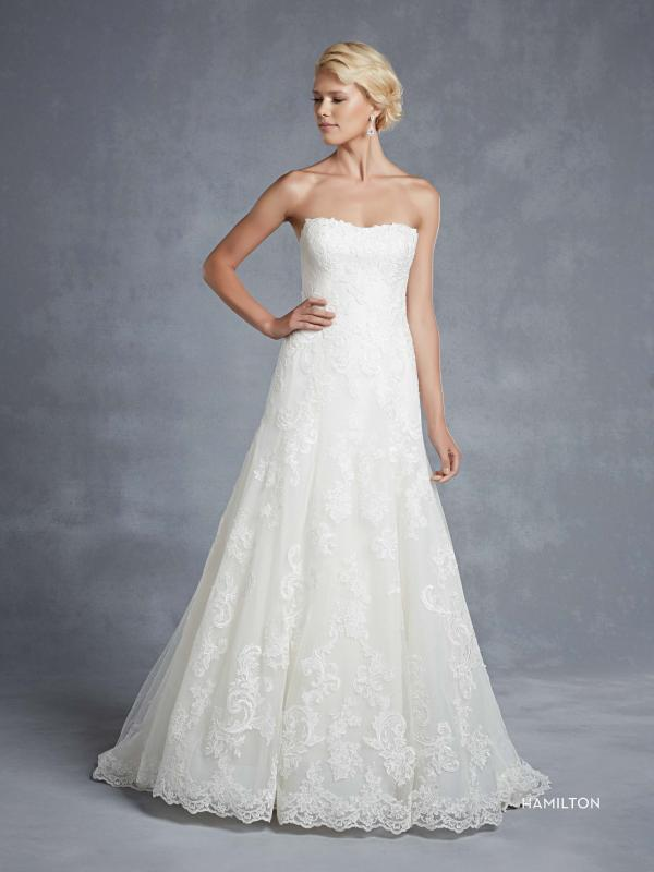 Enzoani Hamilton menyasszonyi ruha