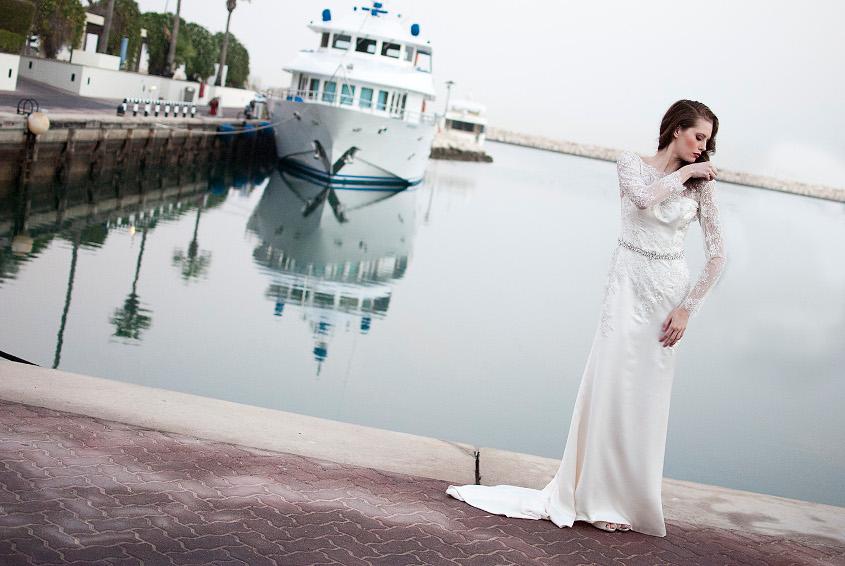 Enzoani - Jordan menyasszonyi ruha - hátulról