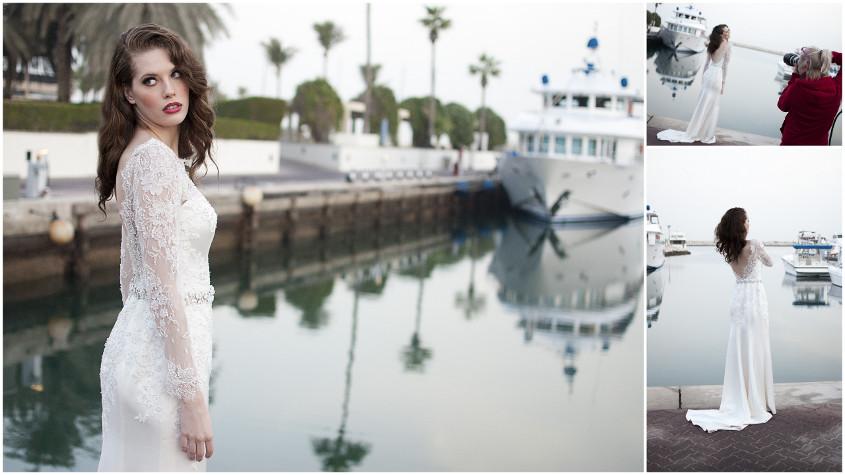 menyasszonyi ruha, esküvői ruha, Dubai fotózás