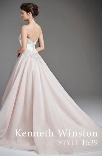 Kenneth Winston menyasszonyi ruha, banán alkatra megfelelő esküvői ruha