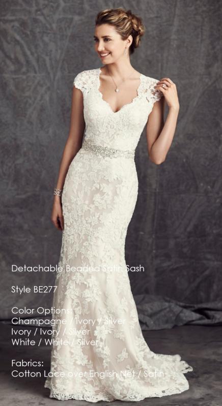 Kenneth Winston 277 menyasszonyi ruha