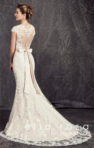 Kenneth Winston 277 menyasszonyi ruha hatulrol