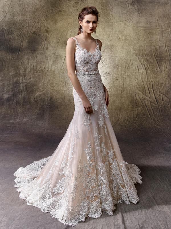 Lotus esküvői ruha