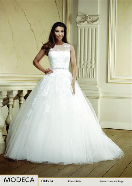 Olivia menyasszonyi ruha, esküvői ruha