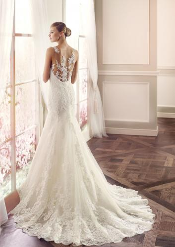 Modeca Seline menyasszonyi ruha hatulrol