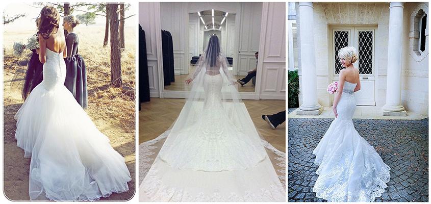 katedralis tipusu menyasszonyi ruha uszaly, amit a hosszú uszályokról tudni kell