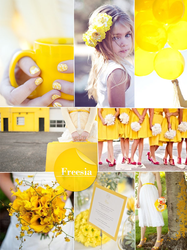 tavaszi trend színek, esküvői trend