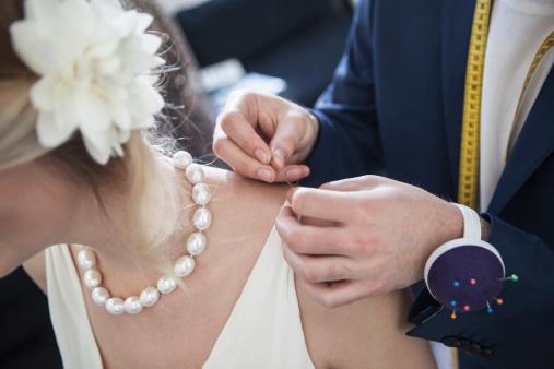 esküvői babona, gyöngy az esküvőn