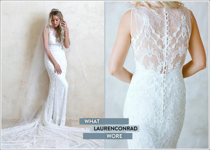 Lauren Conrad esküvői tuhája
