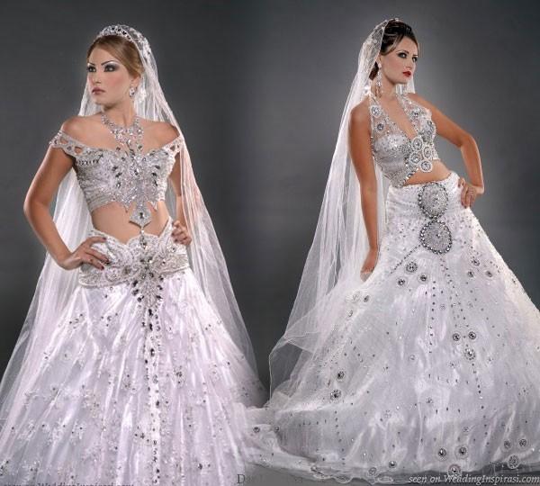 hagyomanyos tuneziai menyasszonyi ruha