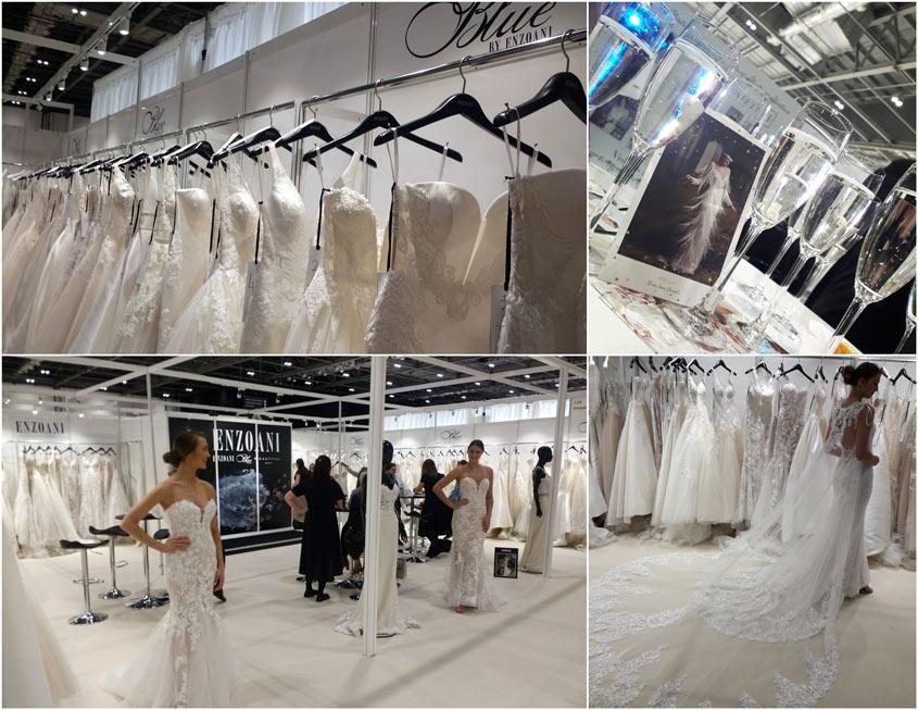 Enzoani esküvői ruha kollekció a londoni esküvői ruha héten.