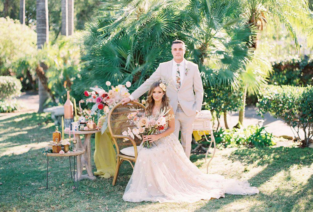 Nyári esküvő a kertben