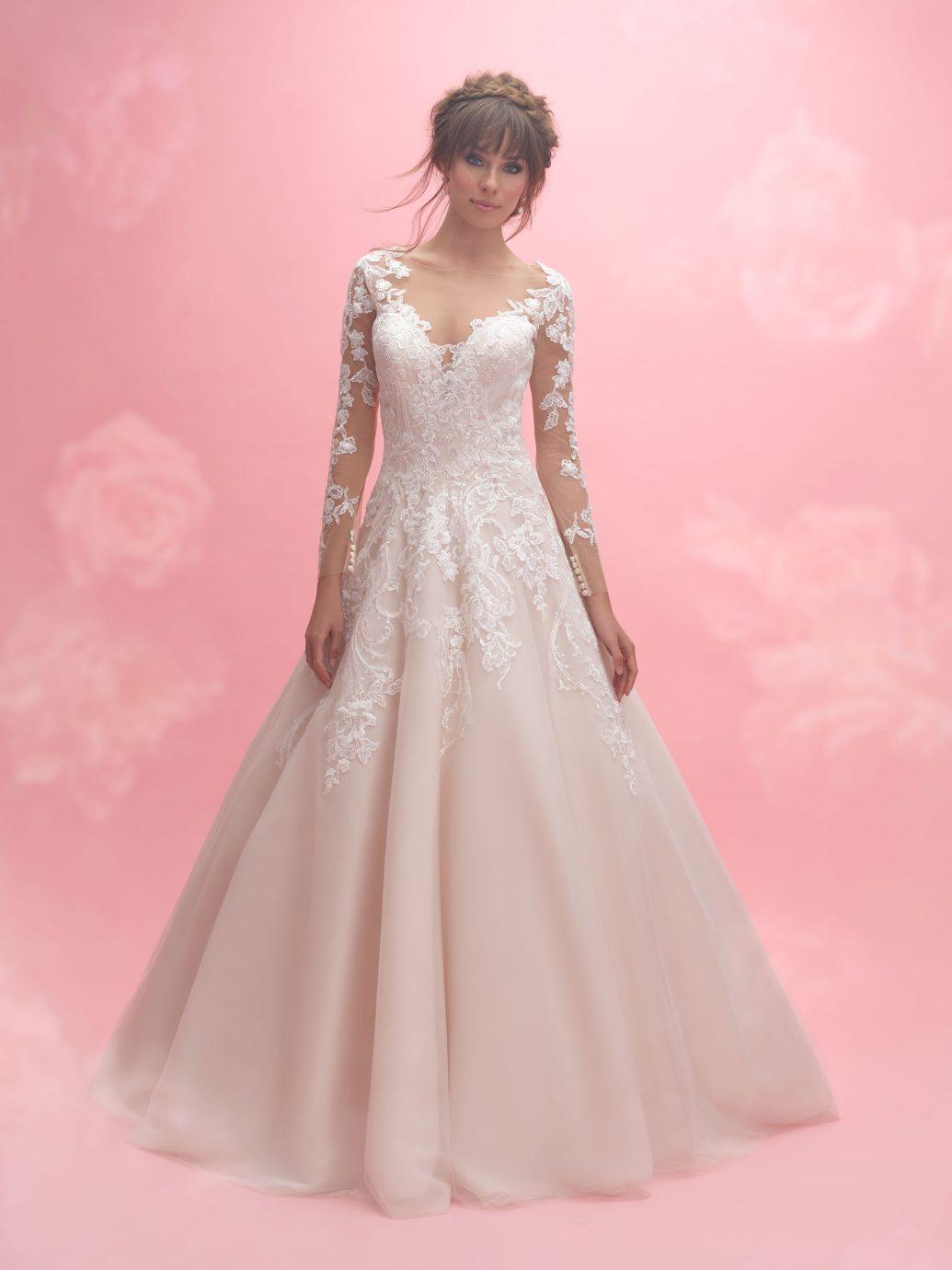 Allure Bridals AB3059 esküvői ruha, az idei menyasszonyok egyik kedvence.