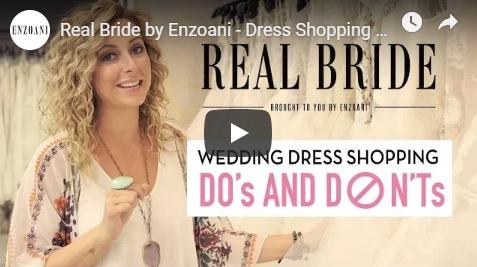 Az Enzoani esküvőszervezője, Karly készített videót arról, hogy mit tegyünk és mit ne esküvői ruha keresés közben.