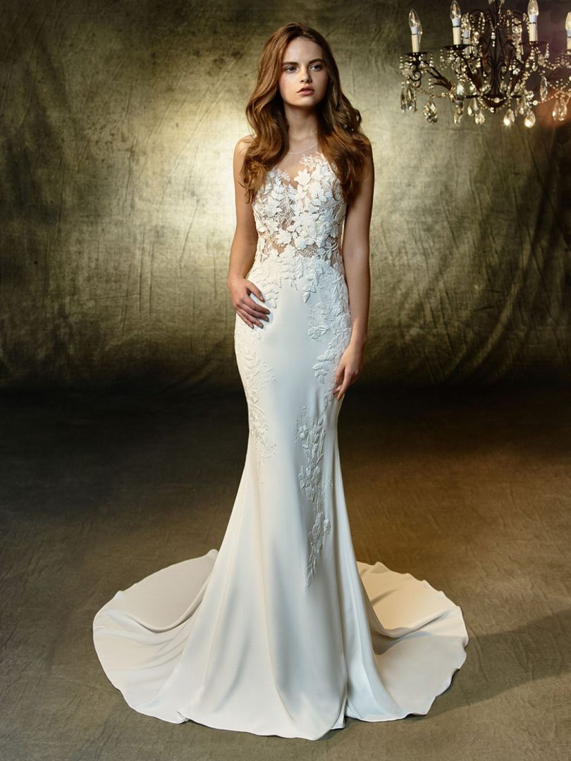 A Blue by Enzoani Linwood menyasszonyi ruha egy igazi sellő csoda!